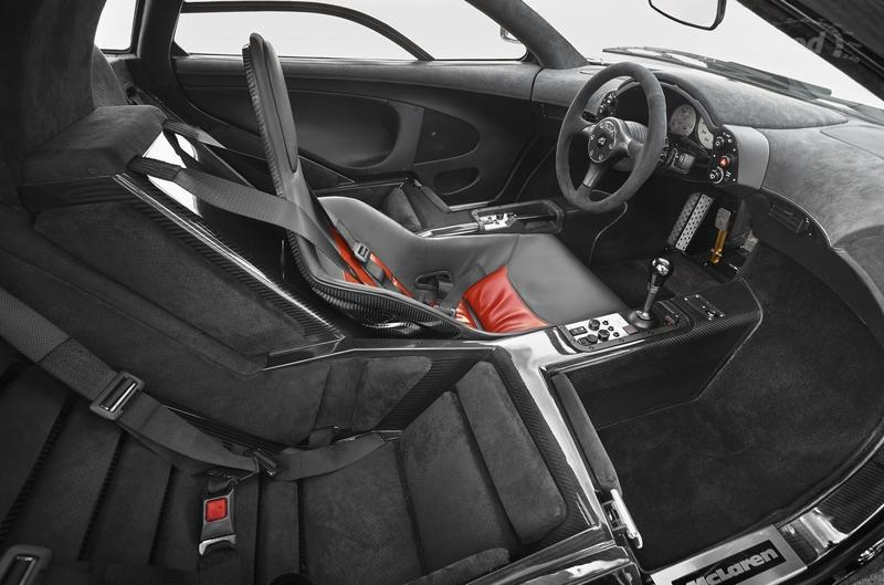 McLaren GT vs McLaren F1 High Resolution Interior - image 674545