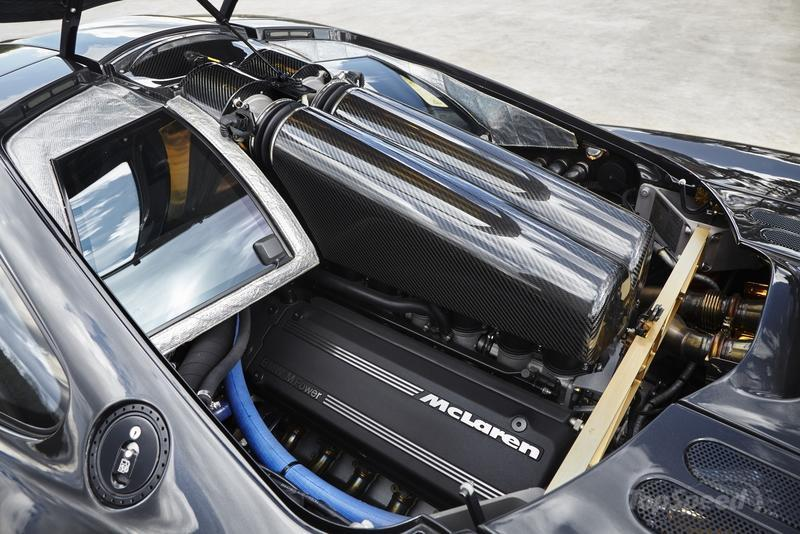 McLaren GT vs McLaren F1 High Resolution Drivetrain - image 674543