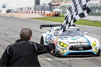 Mercedes Secures Legendary 1-2-3-4 Win At Nürburgring 24 Hours; Weather Strands 69 Cars Early On