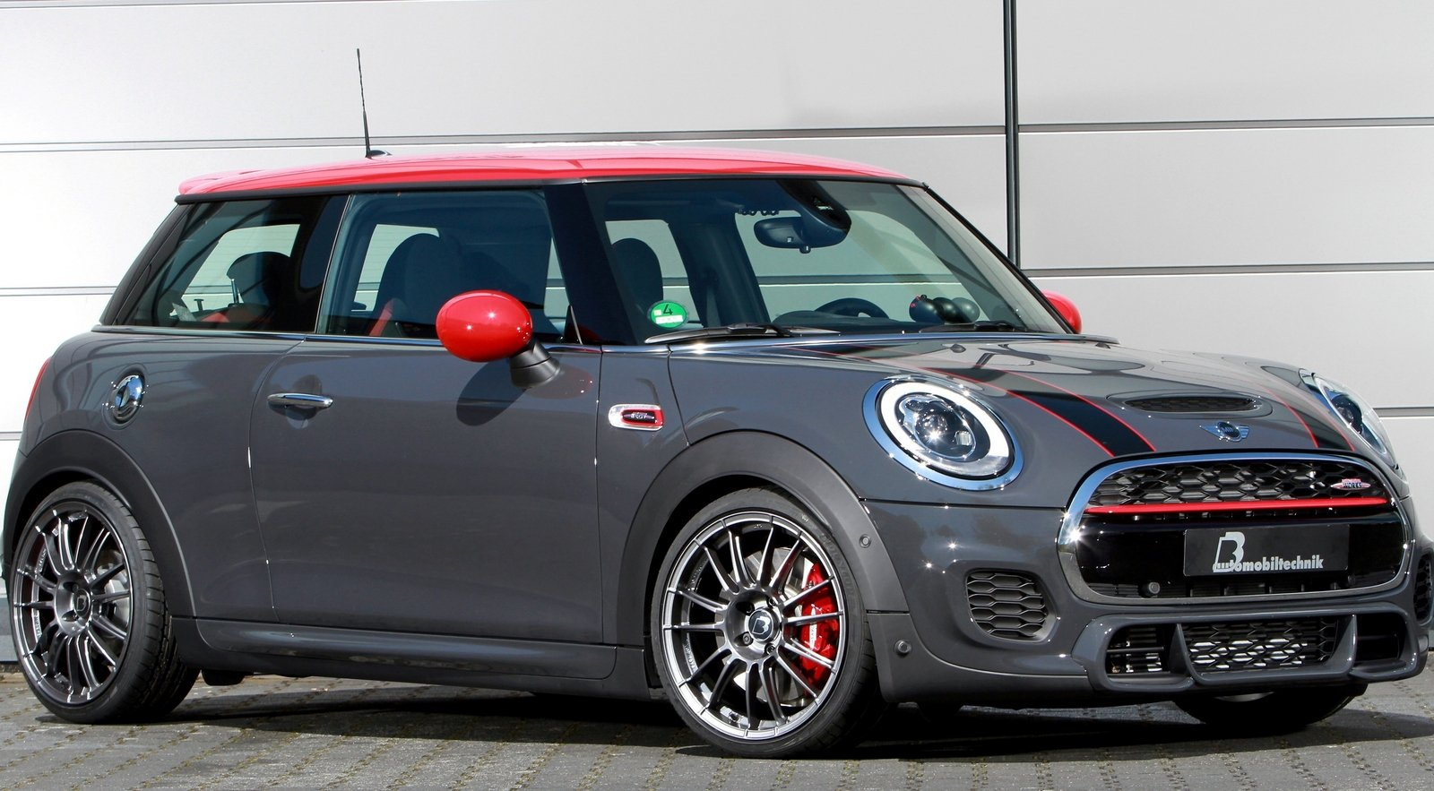 2016 mini cooper john cooper works by b b automobiltechnik top speed. Black Bedroom Furniture Sets. Home Design Ideas