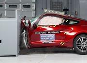 Ford Mustang, Chevy Camaro, Dodge Challenger Fail To Meet IIHS Crash-Test Standards - image 677066