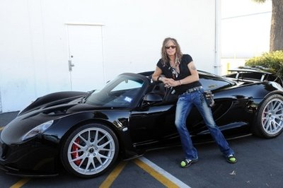 Steven Tyler's Hennessey Venom GT Spyder To Go Up For Auction