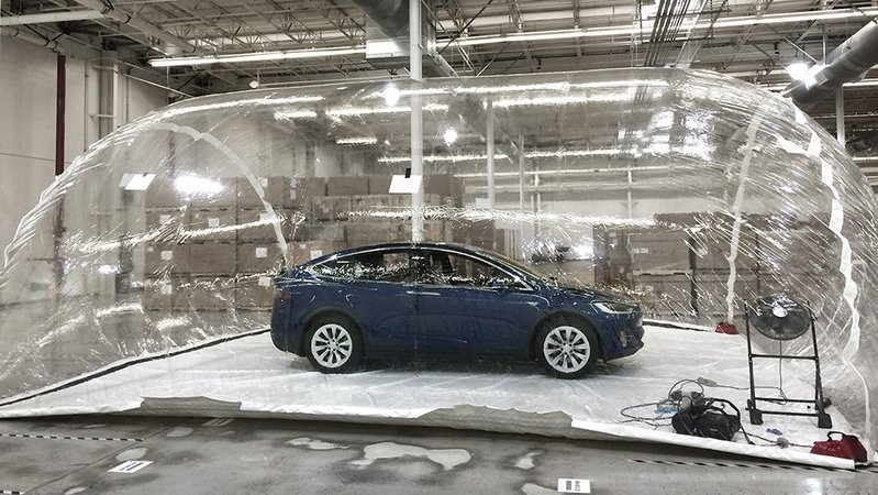 Tesla Showcases Bioweapon Defense Mode
