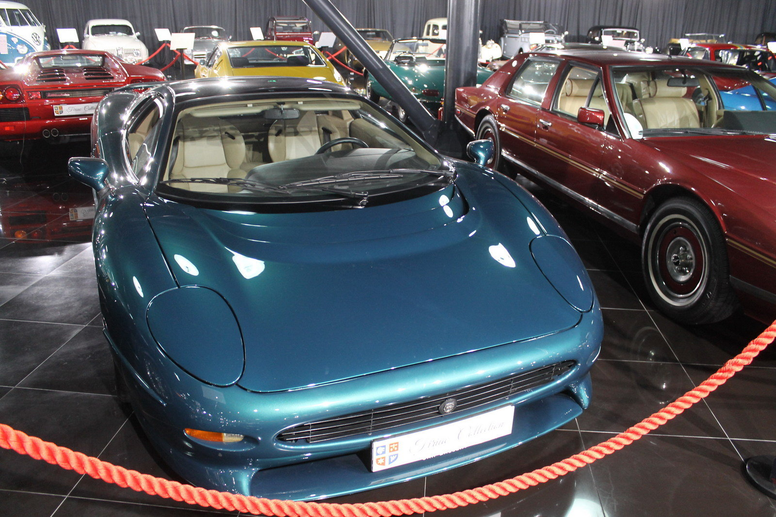 Largest Exotic Car Rally >> A Virtual Tour Of The Tiriac Collection, Romania's Largest Classic Car Exhibit - Picture 675776 ...