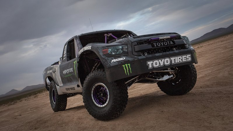 Toyota Debuts Tundra TRD Pro Trophy Truck, Announces BJ Baldwin as Driver