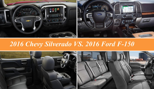 2016 chevy silverado vs  2016 ford f