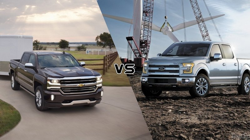 2016 Chevy Silverado vs. 2016 Ford F-150