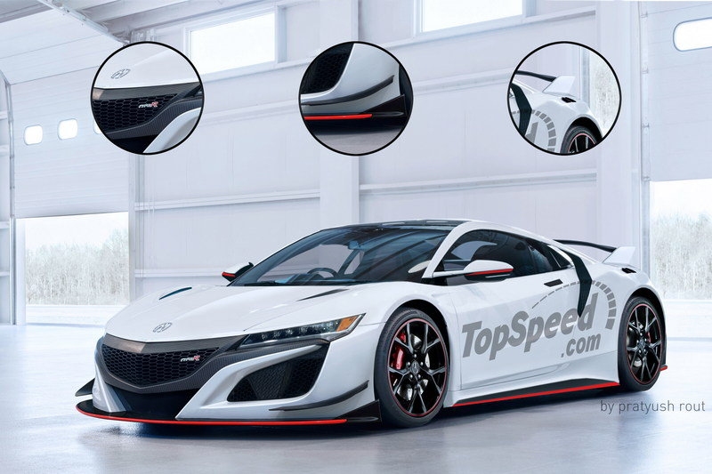 2017 Acura NSX Type R Exterior Exclusive Renderings Computer Renderings and Photoshop - image 680959