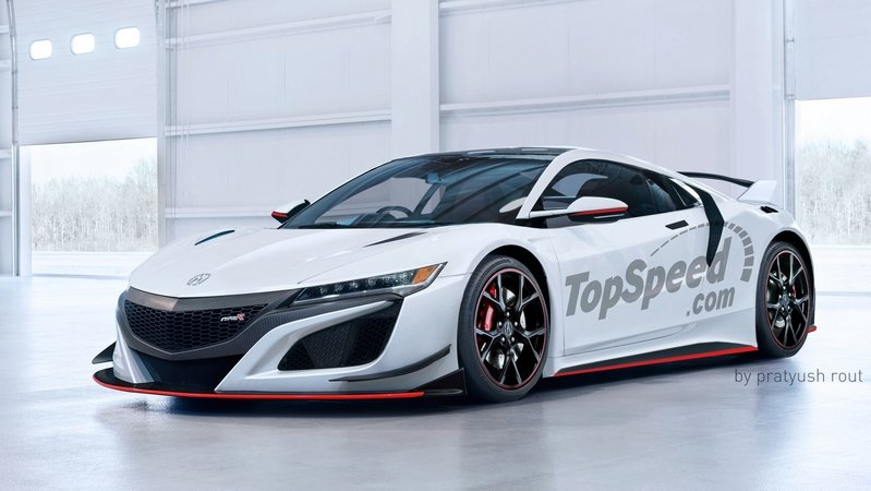 2017 Acura NSX Type R | car review @ Top Speed