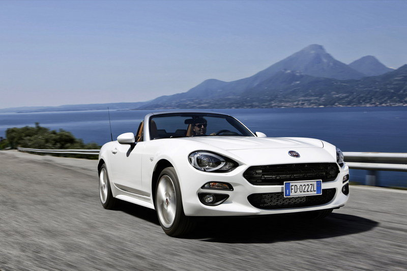 Wallpaper of the Day: 2017 Fiat 124 Spider