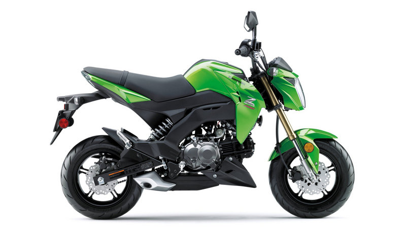 Kawasaki Issues Recall For Defective Shock On The Z125 PRO