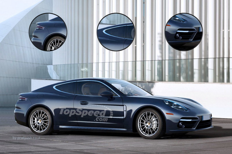 2019 Porsche Panamera Coupe Exterior Exclusive Renderings Computer Renderings and Photoshop - image 679432