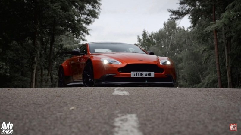 Auto Express Takes The Aston Martin Vantage GT8 For A Spin: Video