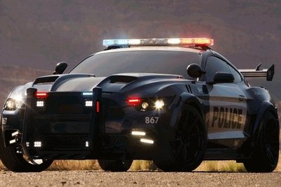 Barricade Returns In Upcoming Transformers Movie Dressed as New Ford Mustang