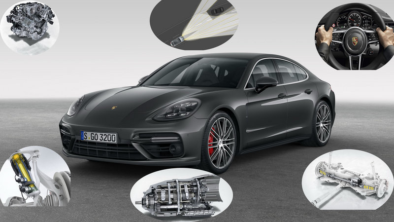 Check Out The Tech In The New Porsche Panamera