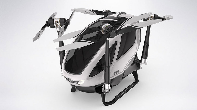 Ehang 184 – World's First Passenger Drone - image 680030