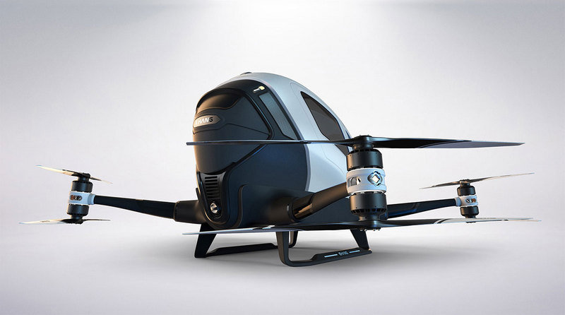 Ehang 184 – World's First Passenger Drone - image 680022