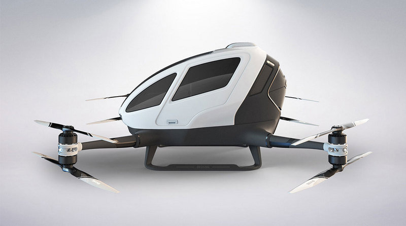 Ehang 184 – World's First Passenger Drone - image 680023