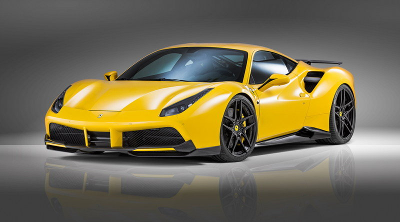 2016 Ferrari 488 GTB by Novitec Rosso High Resolution Exterior Wallpaper quality - image 678973