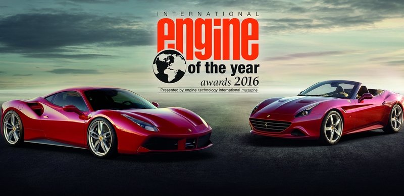 Ferrari's Twin-Turbo V-8 Won International Engine of the Year Award