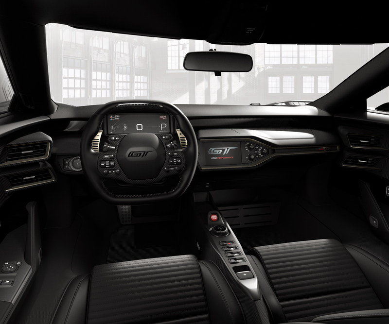 2017 Ford GT '66 Heritage Edition High Resolution Interior - image 680783