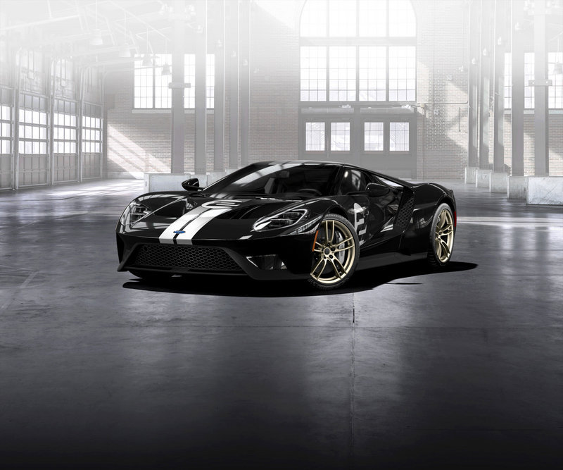 2017 Ford GT '66 Heritage Edition High Resolution Exterior - image 680778
