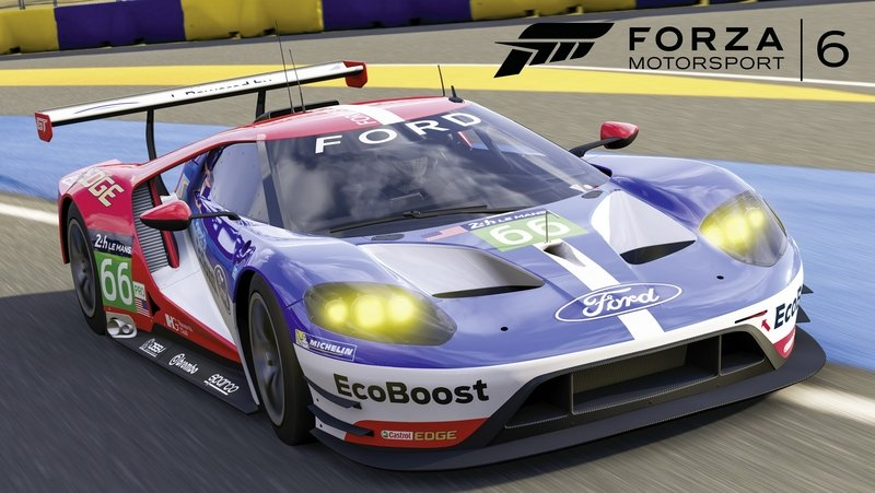 Ford GT Le Mans Racer Now Available On Forza 6