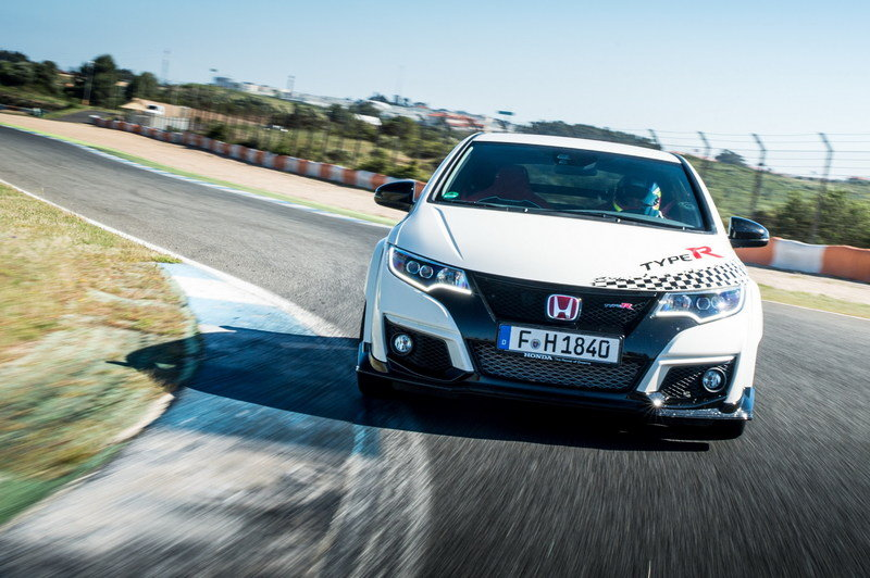 Honda Civic Type R Sets New Lap Records At 5 European Race Tracks