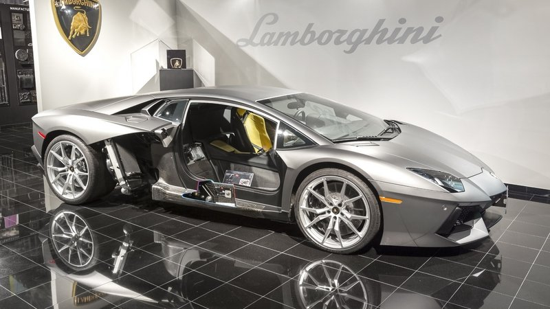 Lamborghini Celebrates Opening Of Carbon Fiber Research Center In Seattle