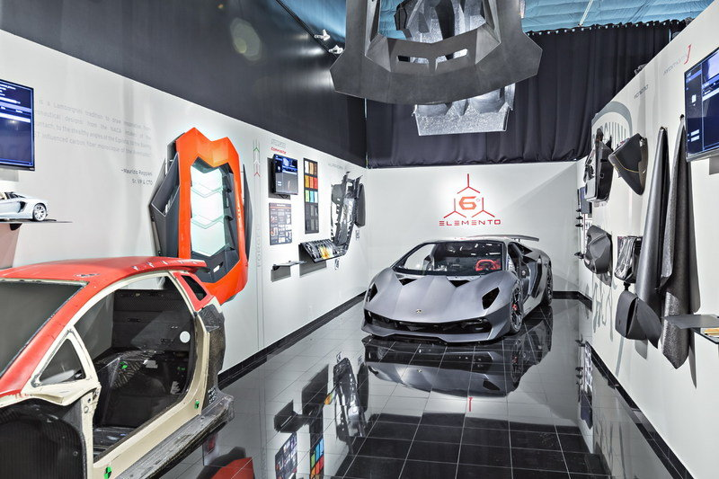 Lamborghini Celebrates Opening Of Carbon Fiber Research Center In Seattle - image 680505