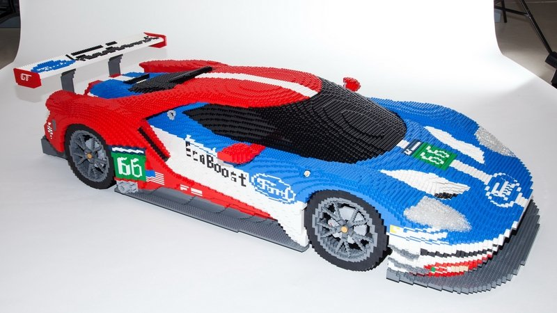 Lego Version Of Ford GT Race Car To Be Displayed At LeMans: Video
