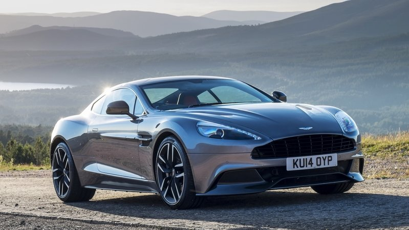 Next-Generation Aston Martin Vanquish Could Receive New V-12 Engine With 700 Horsepower