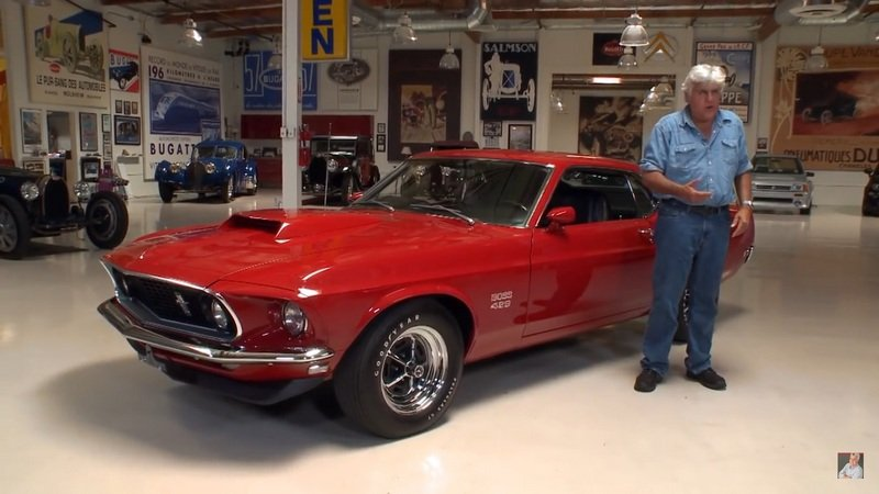 Recently Restored 1969 Ford Mustang 429 Boss Gets Jay Leno's Attention: Video