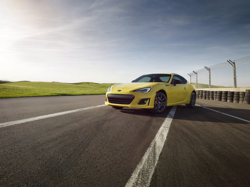 2017 Subaru BRZ Series.Yellow Special Edition