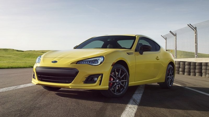 Red Brakes & Yellow Paint Define 2017 Subaru BRZ Series. Yellow