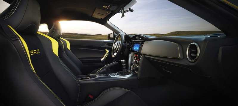 2017 Subaru BRZ Series.Yellow Special Edition High Resolution Interior - image 679241