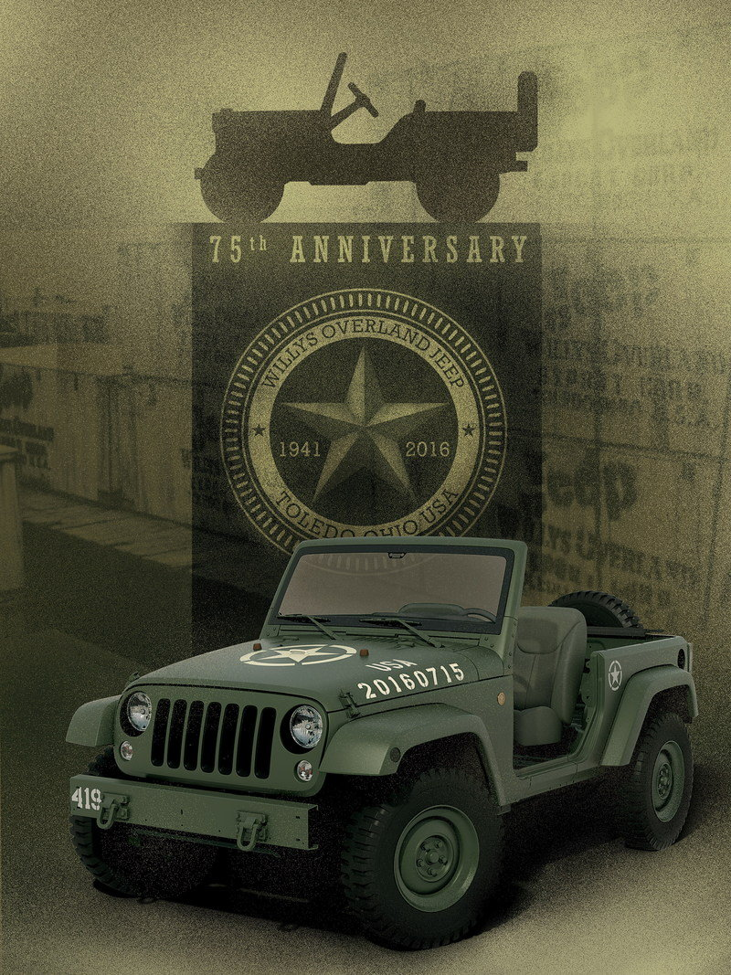 2016 Jeep Wrangler 75th Salute Concept