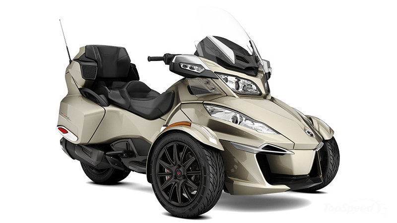 2016  2017    Can      Am       Spyder    RT   Top Speed