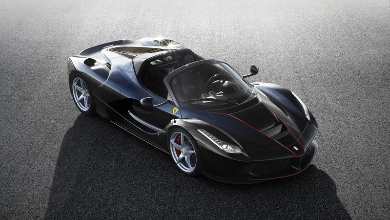 2017 Ferrari LaFerrari Aperta High Resolution Exterior - image 681641