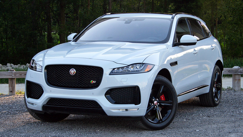 2017 Jaguar F Pace Driven Top Speed