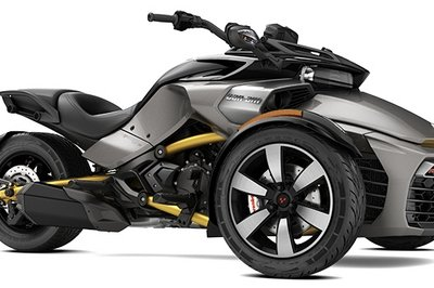 2016 - 2017 Can-Am Spyder F3