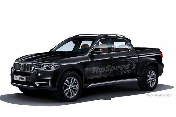 Bmw X5 Towing >> 2018 BMW Pickup | truck review @ Top Speed