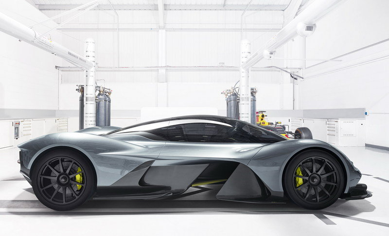 You Better Keep Your Figure If You Want To Fit Inside The Aston Martin Valkyrie
