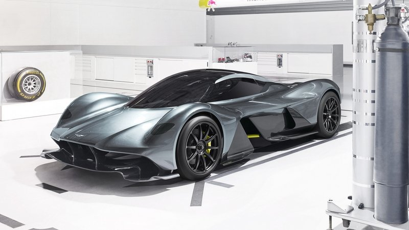 Aston Martin's AM-RB 001 Hypercar Is A Sign Of Things To Come