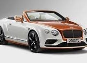 Bentley Continental GT V8 S Convertible Orange Flame By Mulliner