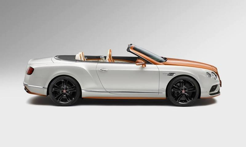 2016 Bentley Continental GT V8 S Convertible Orange Flame By Mulliner Exterior - image 681782