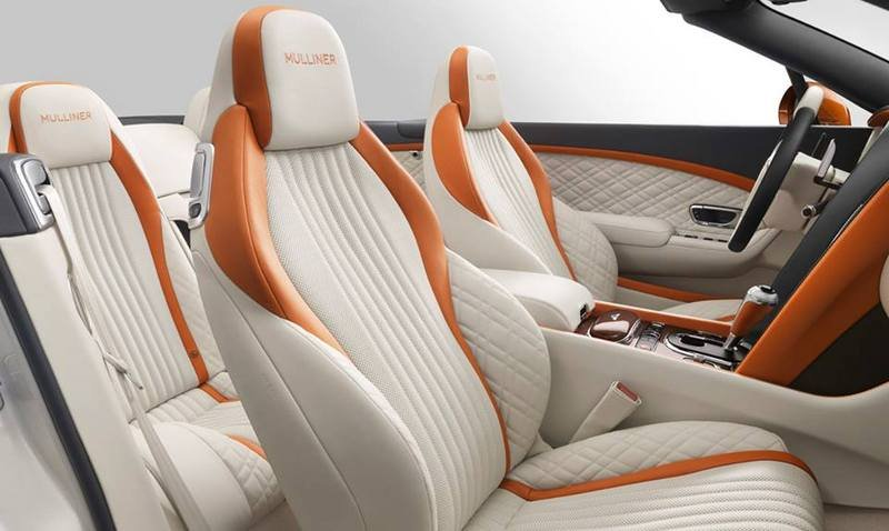 2016 Bentley Continental GT V8 S Convertible Orange Flame By Mulliner Interior - image 681777