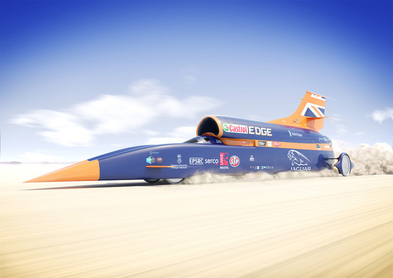 Bloodhound SSC's Date With Destiny Set For October 2017