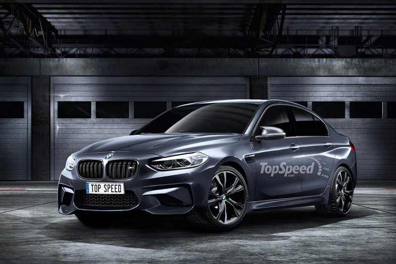 2018 BMW 1M Sedan High Resolution Exterior Exclusive Renderings Computer Renderings and Photoshop - image 683520