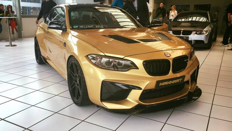 2016 BMW M2 by Manhart Racing
